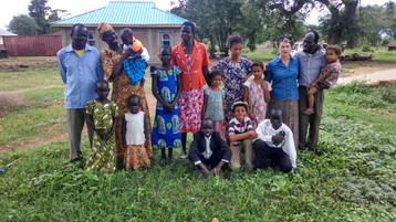 The Levite 's home in Borongole, South Sudan.