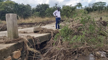 Critical Farm bridge washed out &  300ft NTC97. 3 FM in need of complete renovation