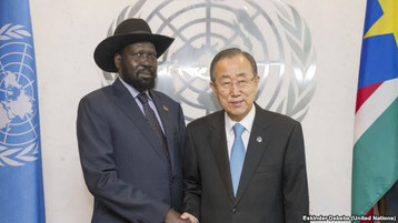 Kiir: 'Unwavering' Effort to End S. Sudan War