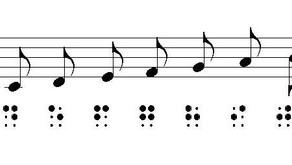 Παρτιτούρες σε σύστημα braille