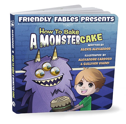 How to bake a monster cake