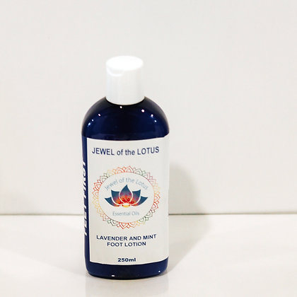 Lavender and Mint Foot Lotion