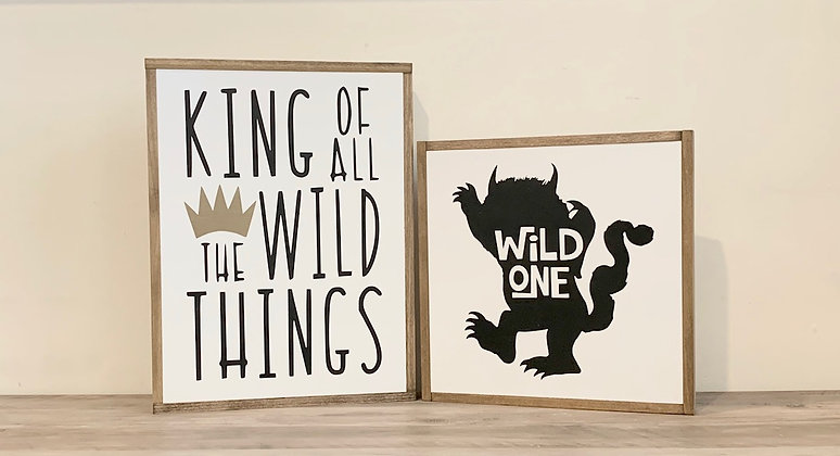 Wild One Room Art