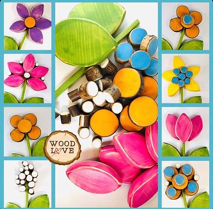 Floral Sorting Set
