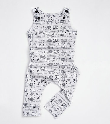 Baby Zoo Romper 3-12 months