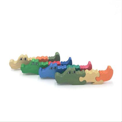 Mini alligator puzzle