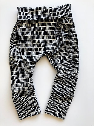 GWM Joggers Black and White