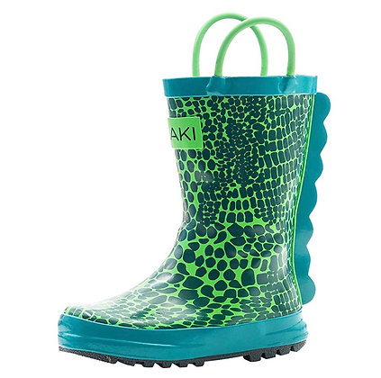 OAKI pull on rubber boots