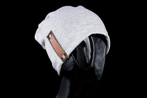 Light Grey Alfonso SALMAN™, Brown Leather