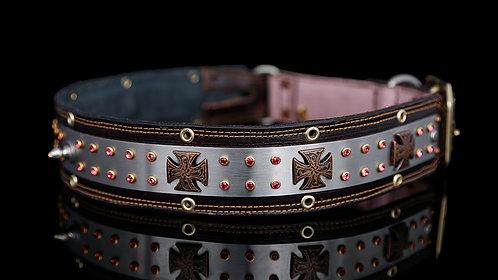 Love Collar - Burgundy Leather