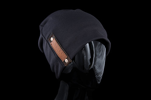 Dark Grey Alfonso SALMAN™, Brown Leather