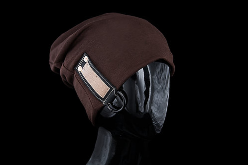 Brown Alfonso SALMAN™, Black Leather D-ring