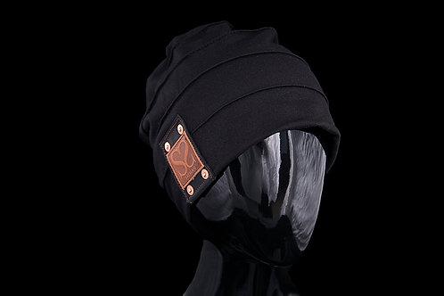 Black Lined, Black Leather