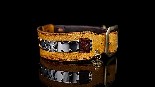 Love Collar - Mustard Leather