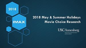 2018 May & Summer Holidays Movie Choice