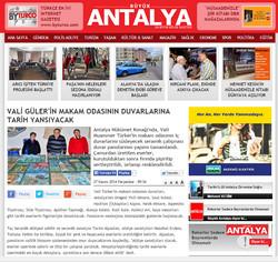 Antalya Valiliğine Seramik