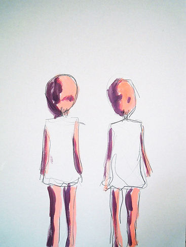 two, only, children, art