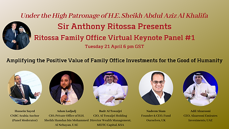 Ritossa Family Office Virtual Keynote Pa