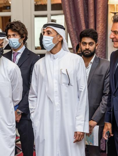 Mohammed Al Habtoor, vice-chairman & CEO, Al Habtoor Group with his son Habtoor M. Al Habtoor