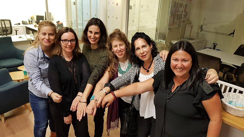Hilla Ovil Brenner, Sharon Rashi-Elkeles, Lilach Moses, Shiran Melamdovsky Somech, Efrat Zakai, Michal Litmanovich Mattes