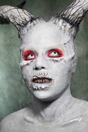 Photo: Cinema Makeup School  Makeup & Costuming: Miranda Collins