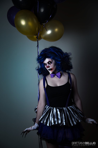 Model: Kory Photo: Brittany Bellus Makeup, Wig Styling & Costuming: Miranda Collins