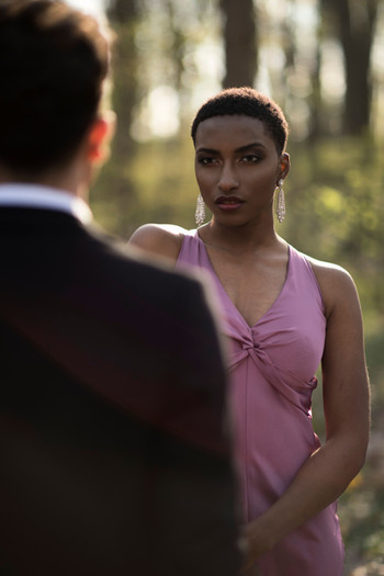 Photo: Darrel Ellis Models: Shieda Moore & Marvin Toma Stylist: Kiauna Wilkes Photographer Assistants: Mike Oden, Jacquel Haynes & Miccael Ragland