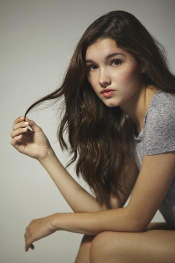 Model: Francesca - Ford Models Photo: Keitaro Cloward Stylist: Jinny Hyojin Oh Hair: Amanda McGowan