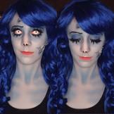 Emily (Corpse Bride) Costume Makeup