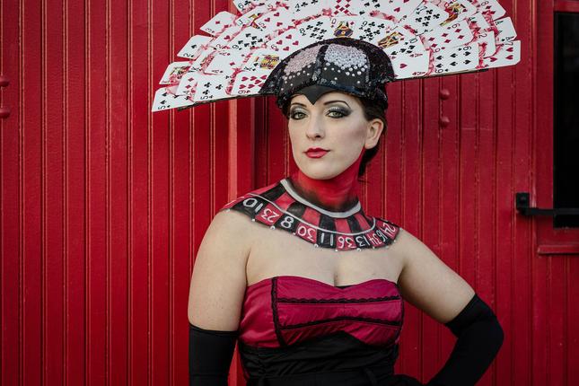 Model: Stephany Photo: Presley Wright Makeup, Costuming & Headpiece: Miranda Collins