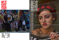 West Side Story Hip Hop Weekly Magazine  Fashion Editor: T.J. Rudy Photographer: Travis Lane Hairstylist: Kash Brouillet Makeup Artist: Lauren Williams Assistant Makeup Artist: Miranda Collins Kismet Model Management