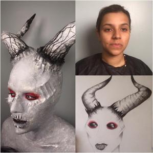 Photo: Cinema Makeup School  Makeup & Costuming: Miranda Collins