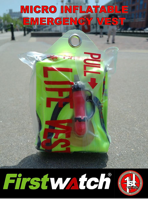 Compact SAR Assist Inflatable PFD