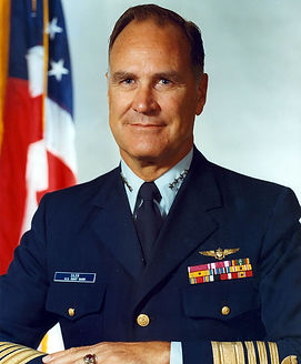 A picture of ADM Siler, 15th Commandant of the USCG
