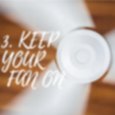 Keep the fan on in your bathrom and paint the walls with Paint-Guard to avoid mold from growing.