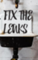 Hidden sink leaks can cause serious damage. Find the leak and repaint using Paint-Guard