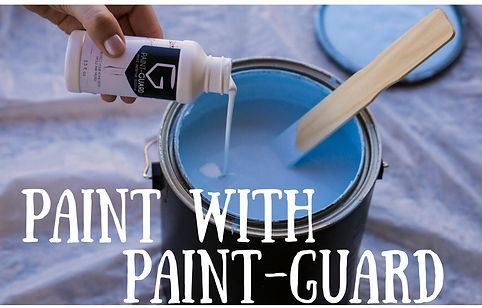 Pour Paint-Guar into ANY gallon of paint your heart desire