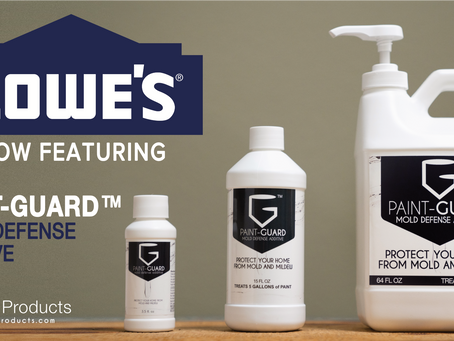 PAINT-GUARD MOLD DEFENSE ADDITIVE - NOW AT LOWES