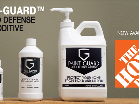 PAINT-GUARD now available through The Home Depot