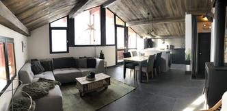 Panorama salon rénové