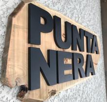 Devanture du Chalet Punta Nera