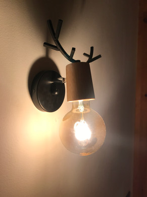Luminaire tête de cerf