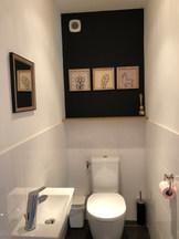 Décp toilette chalet