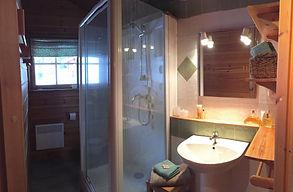 Salle de bain Pomme de pin