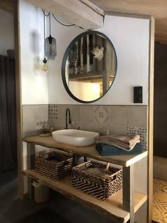 Salle de bain Rocher Gris