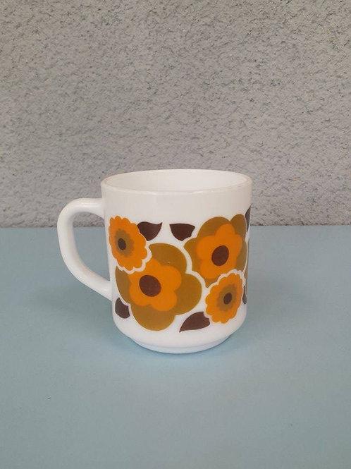 Mug lotus orange