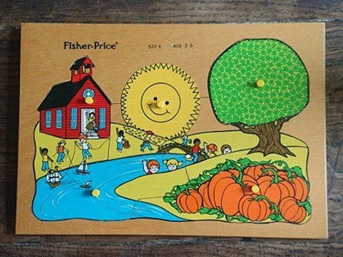 Puzzle en bois Fisher Price