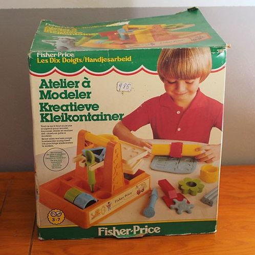 L'atelier à modeler de Fisher Price (neuf)