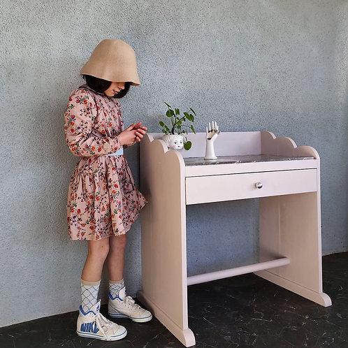 Table de toilette marbre