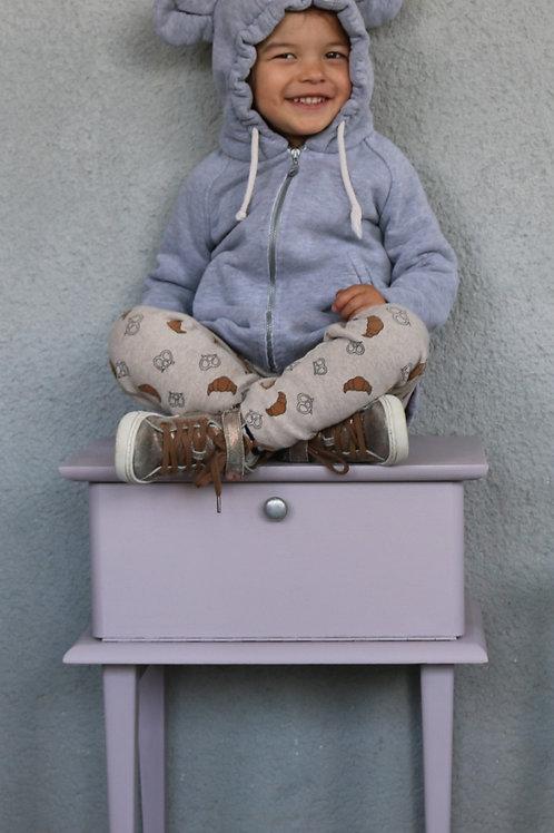 Chevet Mauve grisé